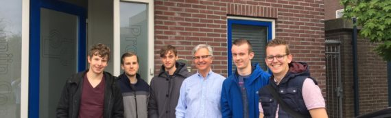 Bezoek studenten ROC Horizon College